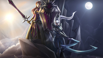 ����, league of legends, leona, ���, diana, ���, �������, ����, ������