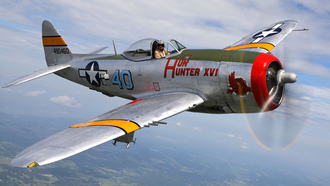 historical, military, �������, p-47, republic, �����������, thunderbolt, club