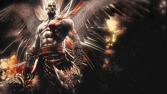 god-of-war, ascension, god-of-war, kratos, ascension, mighty, wings