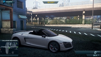 Most Wanted 2013, Audi R8 RT Spyder.white