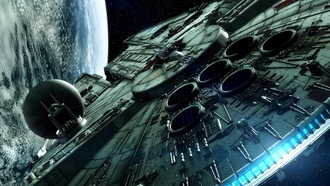 Millennium Falcon, Star Wars, ������� �����, ����� �����������, ����������� �������, ������