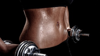 �������, woman-training-weights-fitness