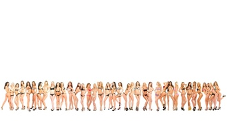 art, many girls, lingerie, bra panies, group, many, hi-q, minimalist wall