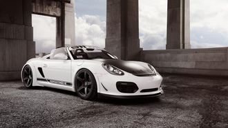 porsche boxster spyder, �����, forgestar wheels, ��������, 1013mm