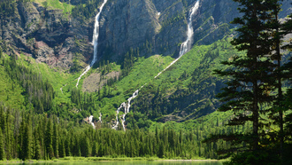 �����, montana, avalanche lake, �������, glacier national park, �������