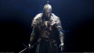 knight, dark souls 2, game, warrior, armor, background