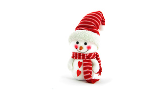 christmas, hearts, ���������, scarf, background, holidays, new year, snowman
