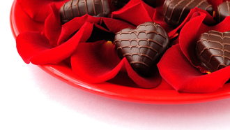 heart, holiday, chocolate, roses, �������, hearts, love, candy, ����, �������