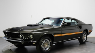 mustang, ������ ���, 1969, muscle car, mach 1, cobra jet