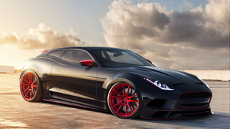 virtual tuning, jaguar x-c16, ягуар, автообои, concept, тюнинг, рендер