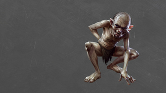 gollum, ��������� �����, ������, the lord of the rings