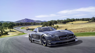 amg, mercedes-benz, gt3, sls, motion, sky, tuning, sportcar, road