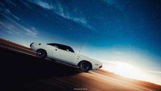 vanishing point, � ��������, dodge challenger, ����, muscle car