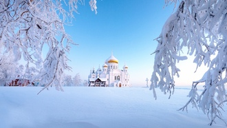 winter, snow, ural, russia