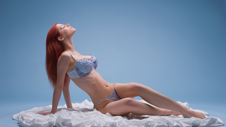 redhaired, lingerie, ariel piper fawn, piper fawn, ariel
