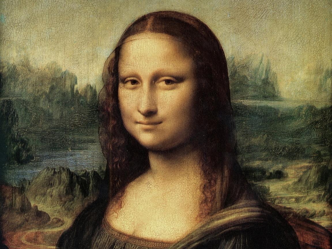 Мона лиза l da vinci mona lisa обои для