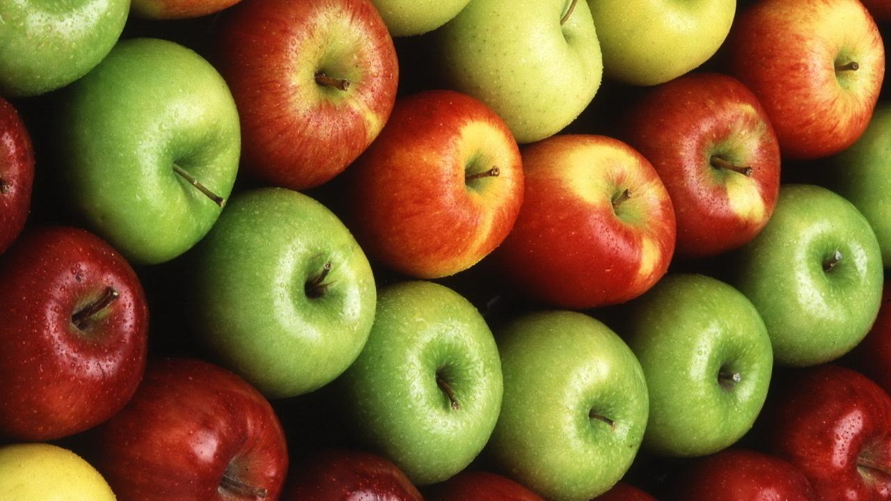 фрукты, продукты питания, Яблоки