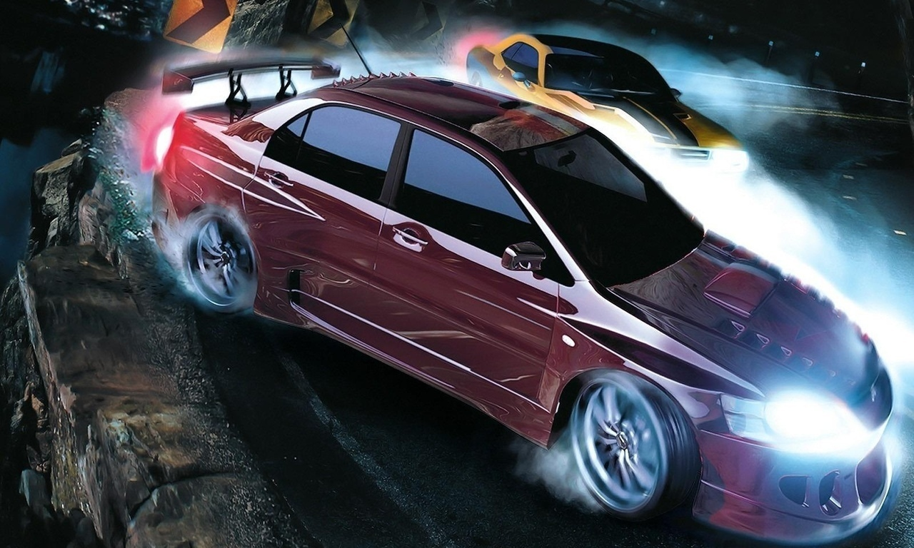 Обои Need for Speed Carbon Игры фото.