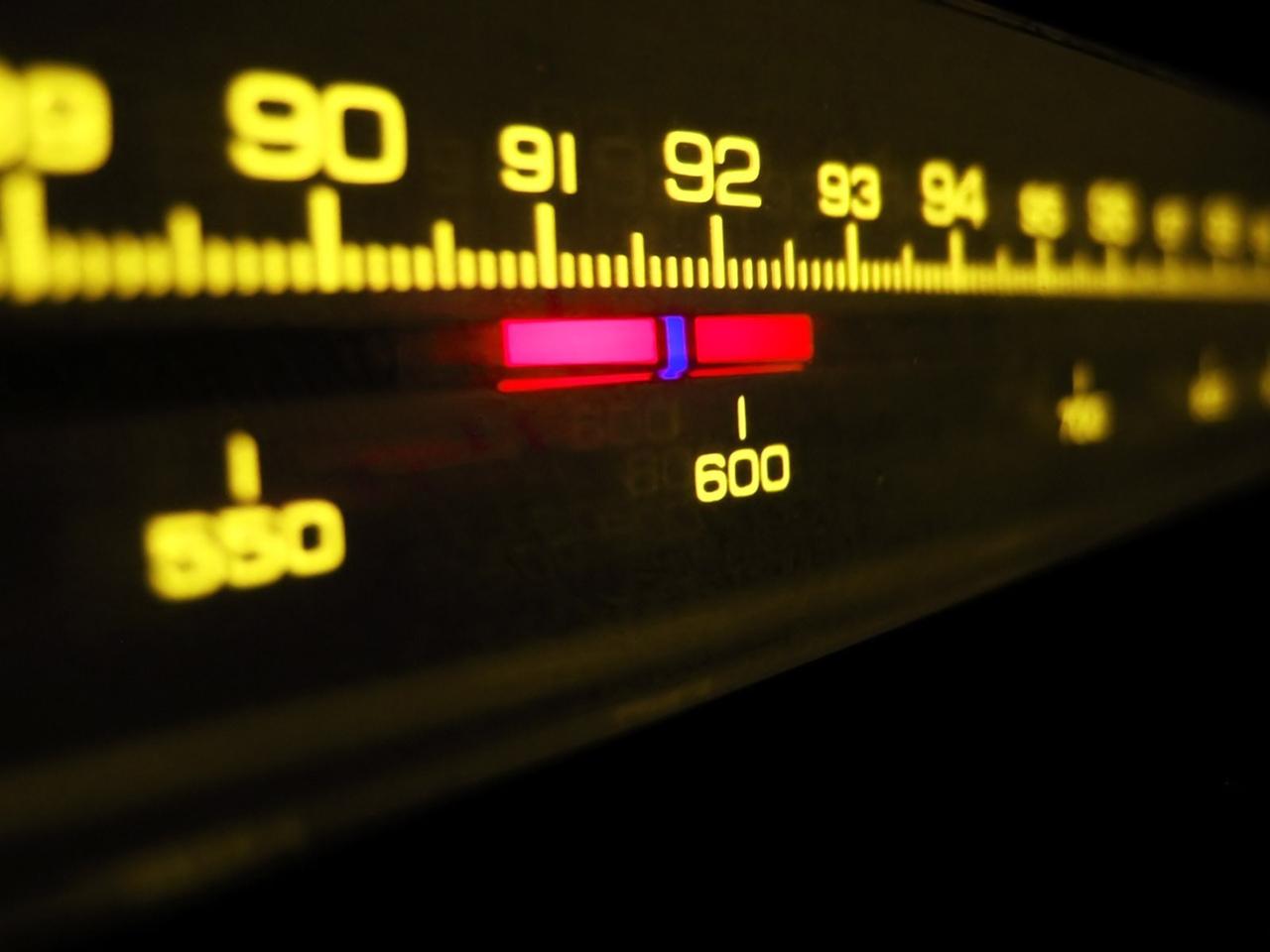 шкала, музыка, Радио