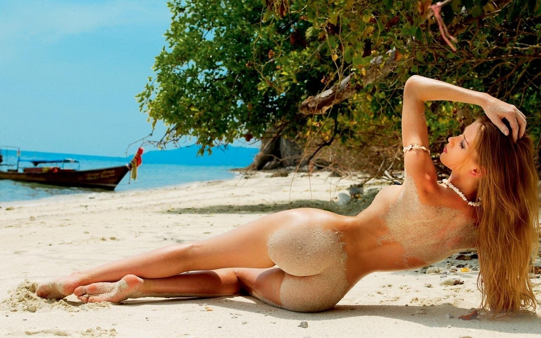 Фото 30 голые девки с большими жопами на пляже 15 фотография