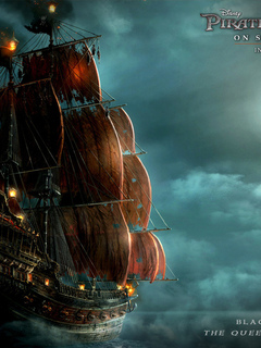 обои корабль. обои черная жемчужина. обои пираты карибского моря. обои море. обои фонари.