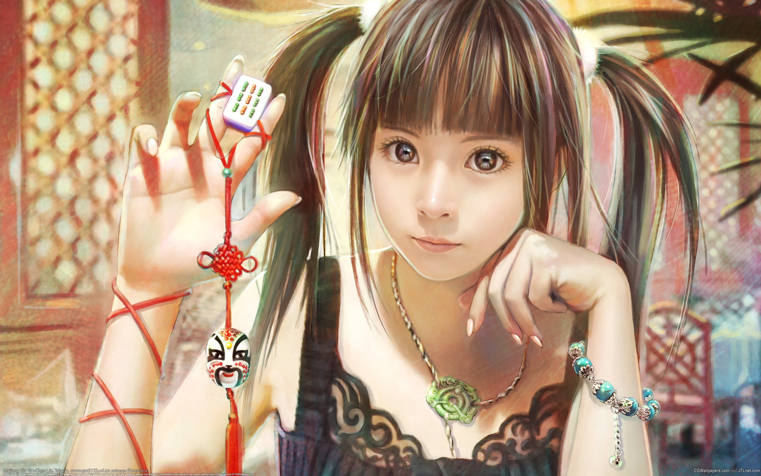 Девочка, i-chen lin, игра