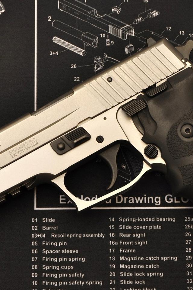 обои схема. обои разборка. обои пистолет. обои глок. обои сборка. обои оружие. обои детали.