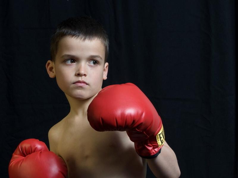 мальчик боксер
