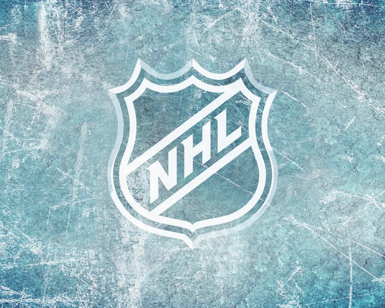 Надпись обои хоккей знак лед спорт