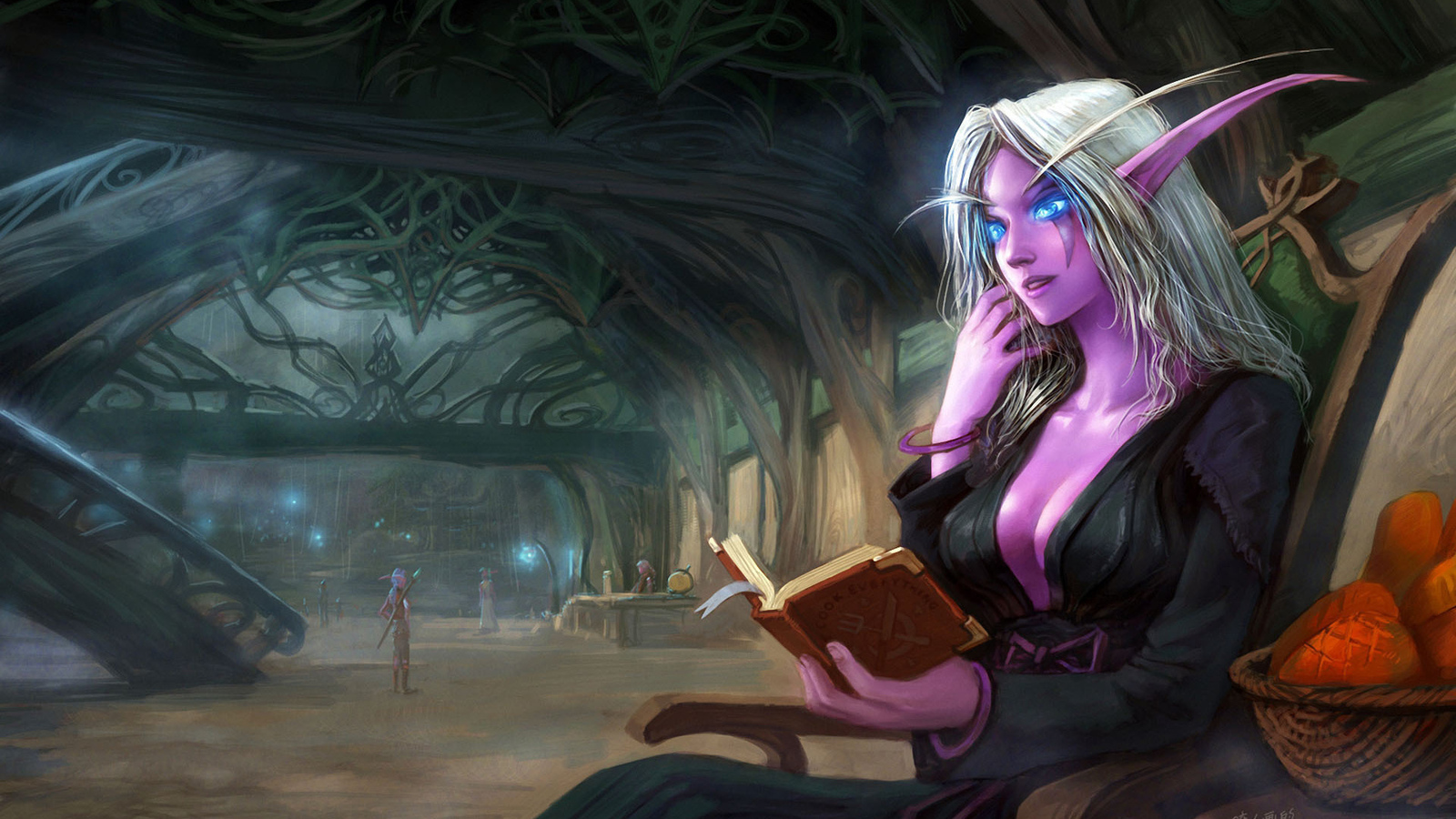 World of warcraft elf art hentia videos