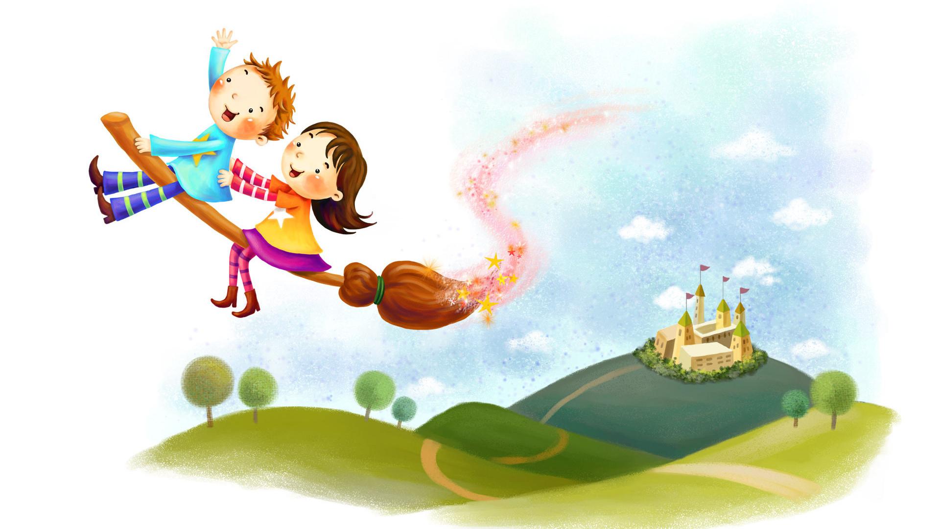 Волшебство рисунок детство фантазия