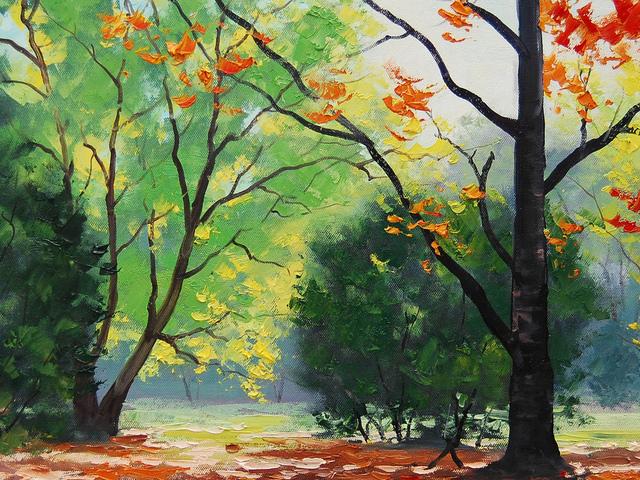 Осень картинки рисунки 13
