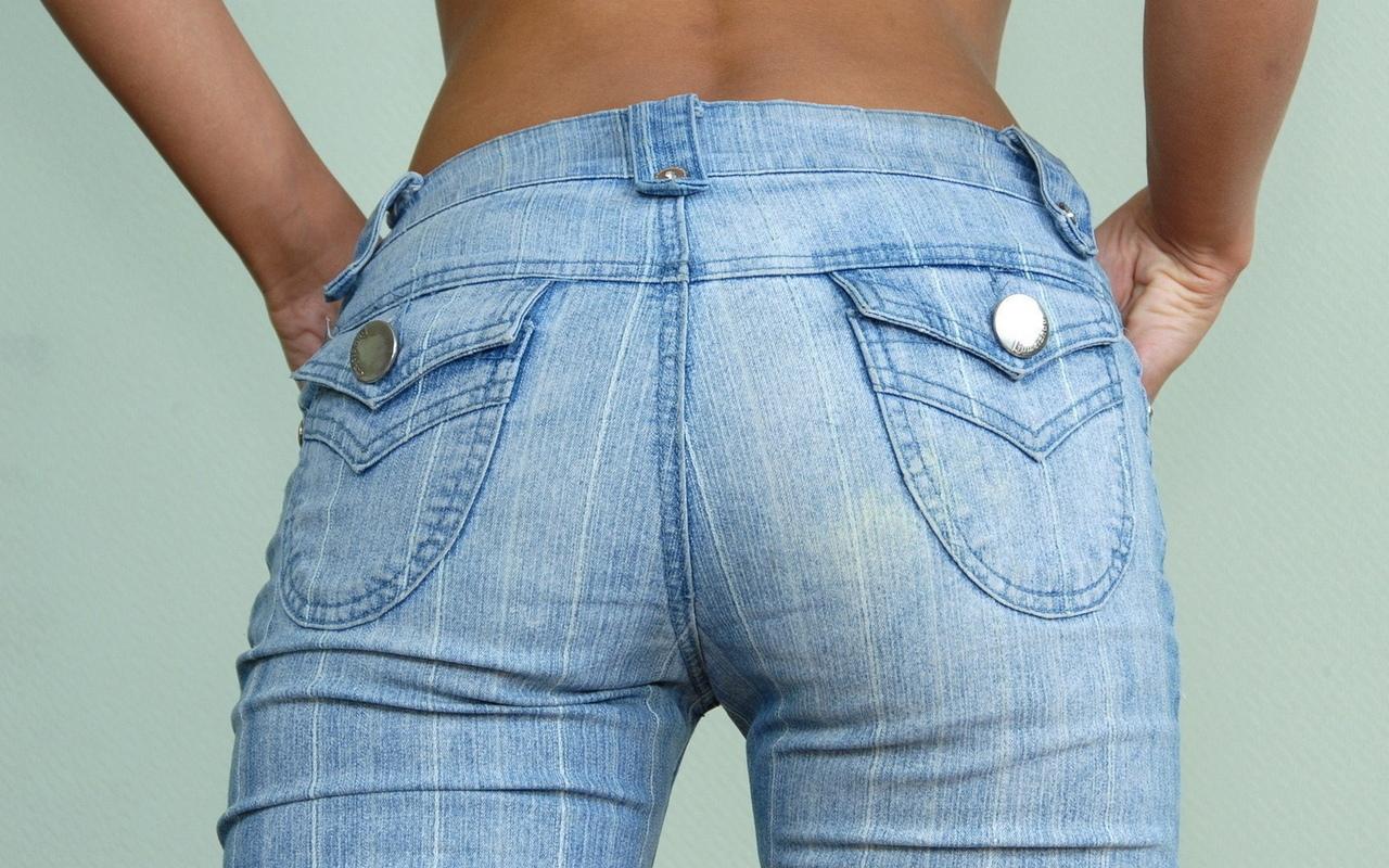 Фото девочек в джинсах 15 фотография