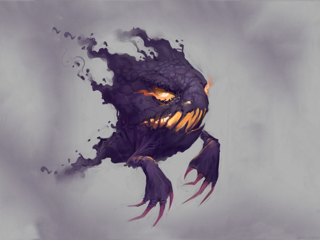 pokemon, haunter