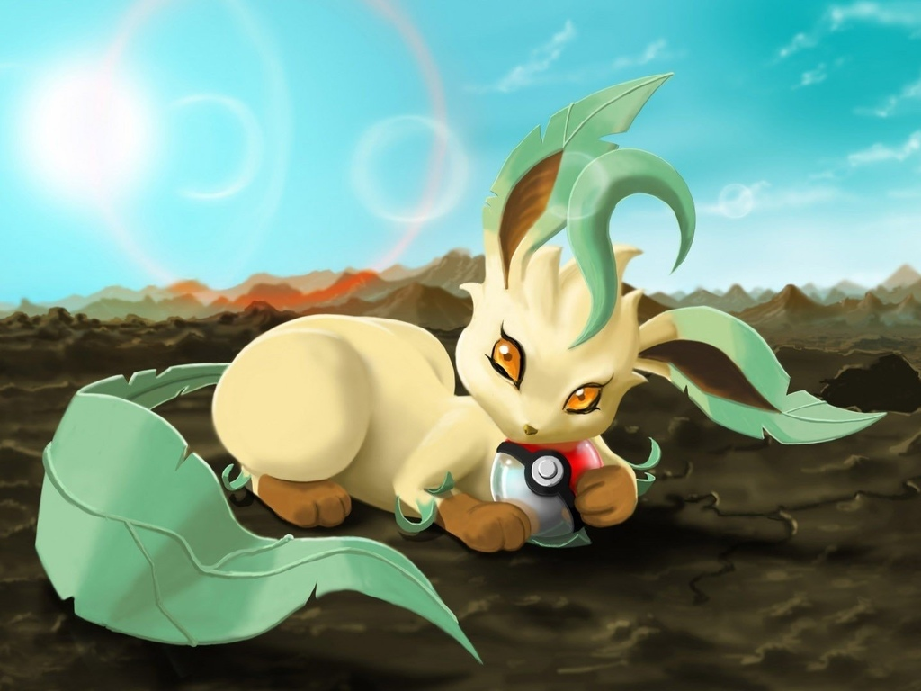 pokemon, leafeon