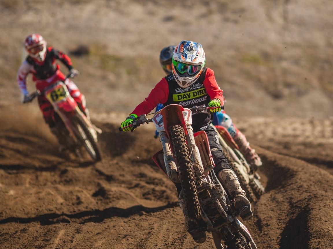 dirtbike, мотоцикл, грязь, гонки