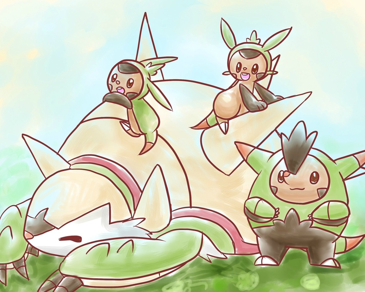 chesnaught, pokemon