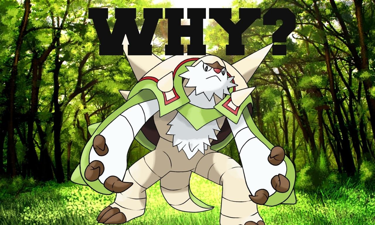 pokemon, chesnaught