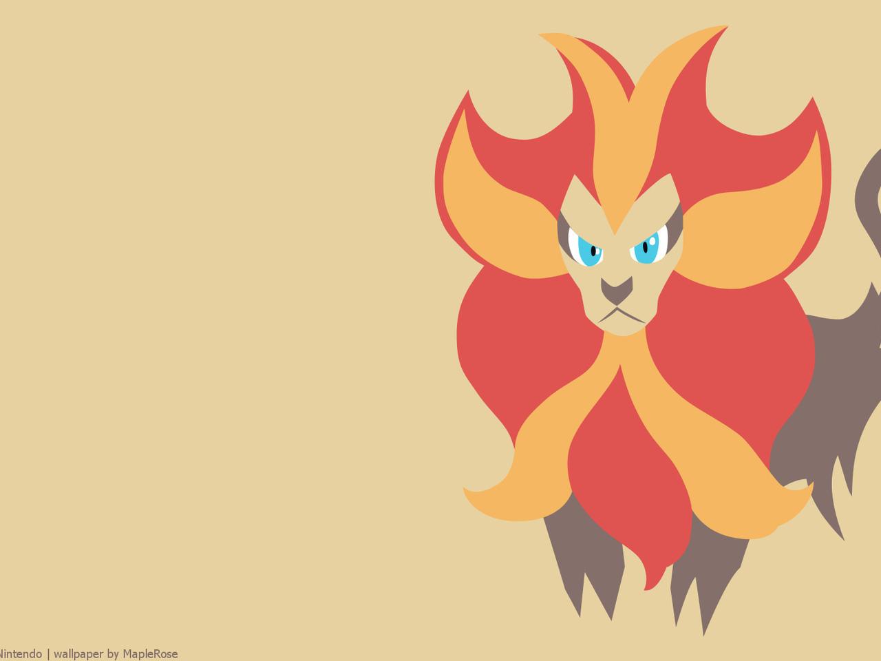 pyroar, pokemon