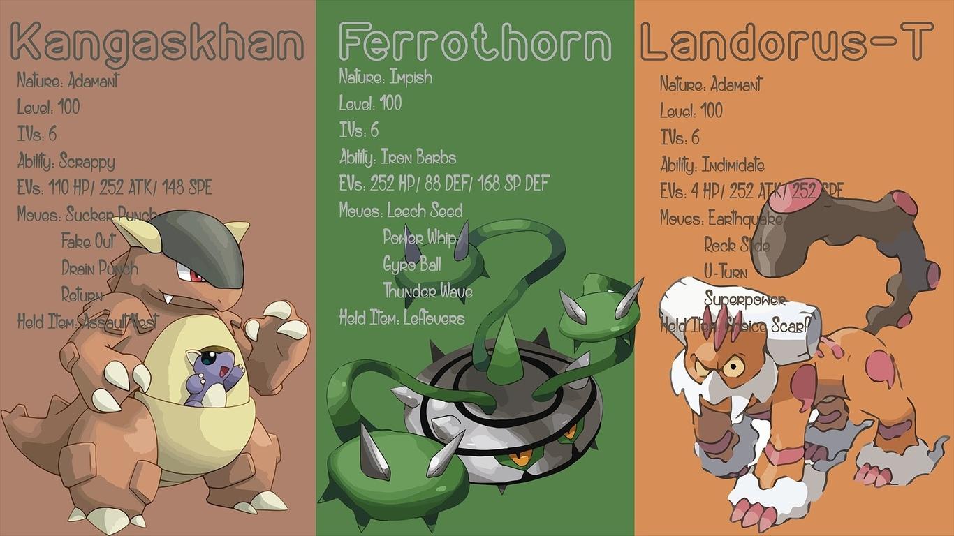 pokemon, ferrothorn