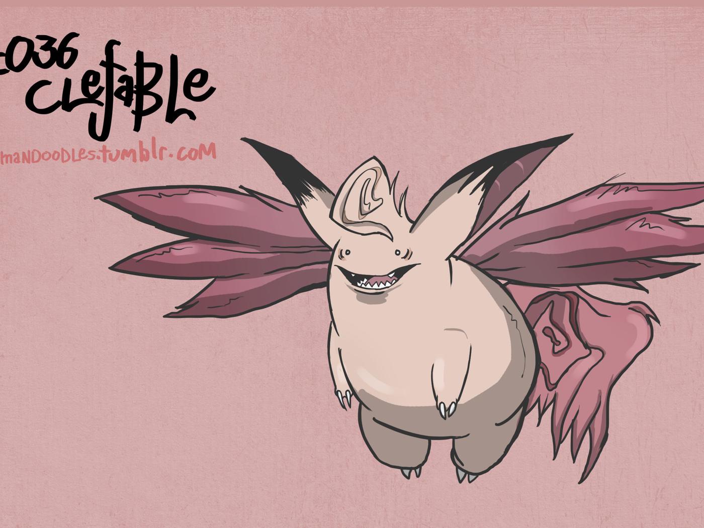 pokemon, clefable