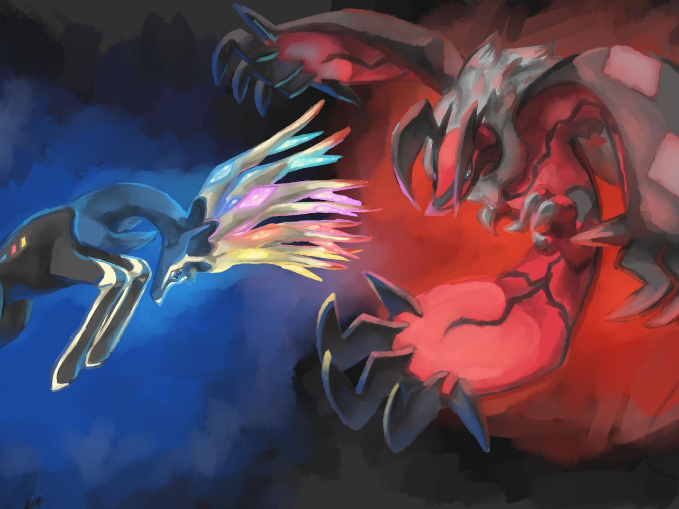 xerneas, pokemon