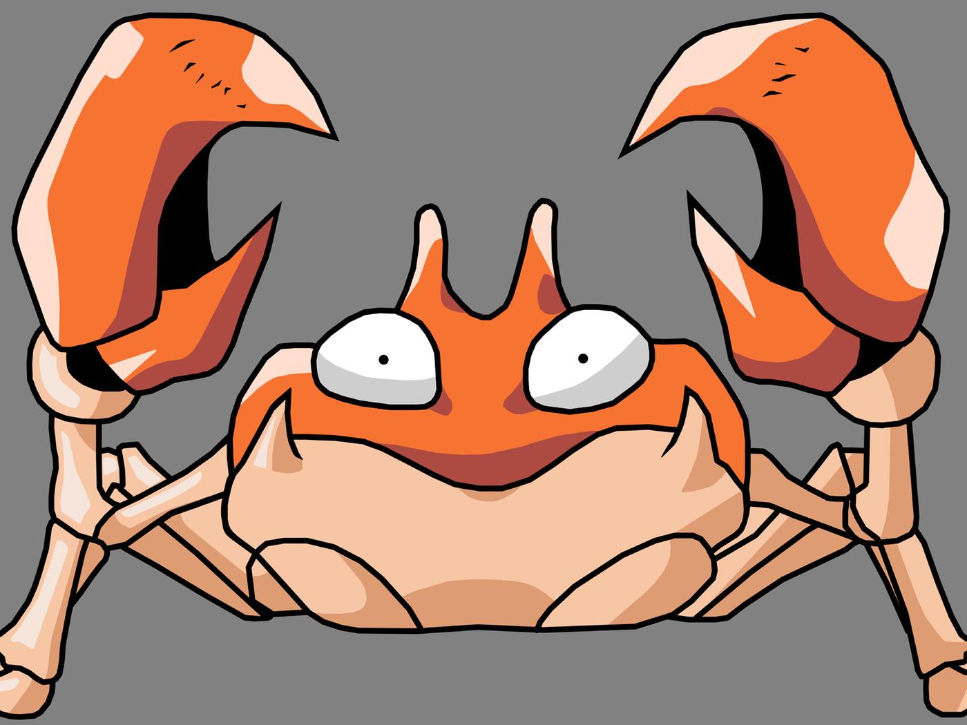 krabby, pokemon