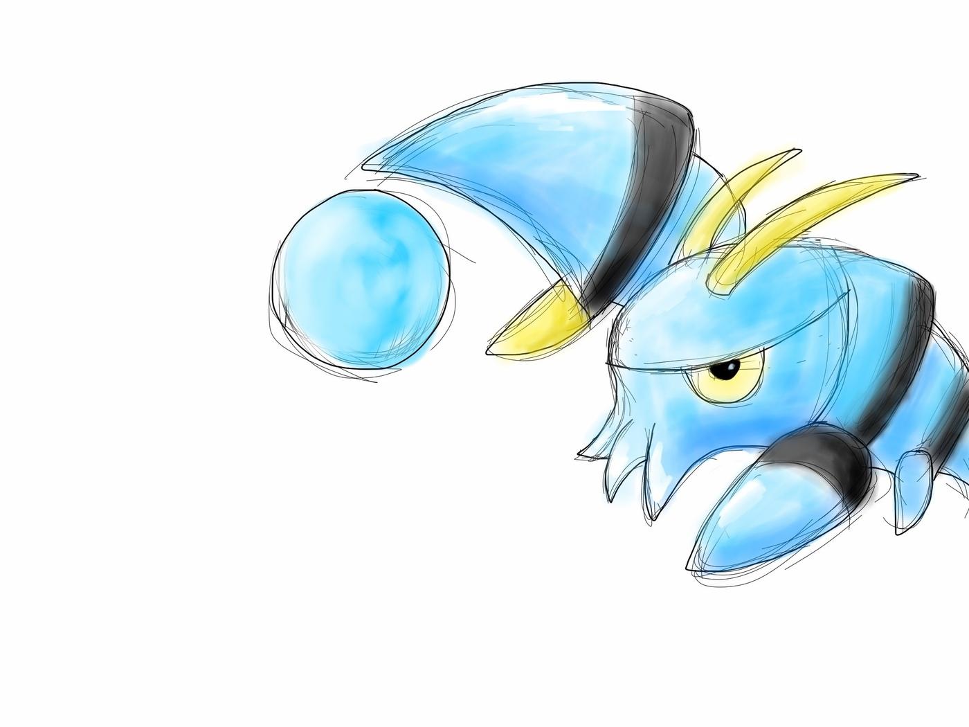 pokemon, clauncher