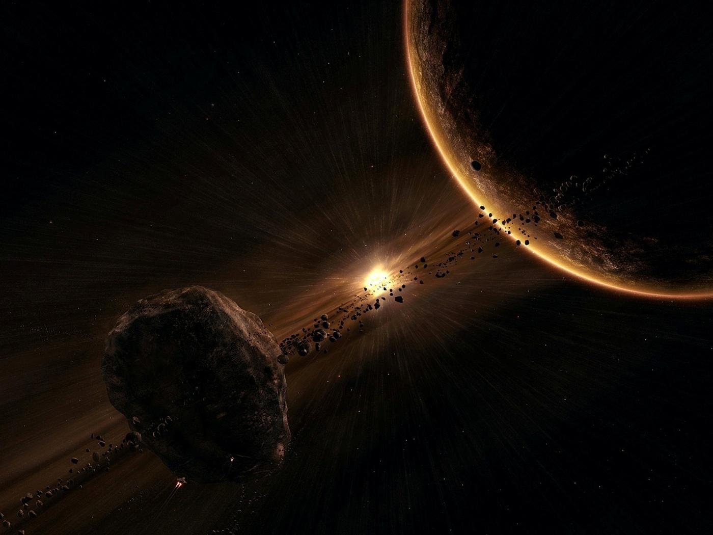 метеорит, космос