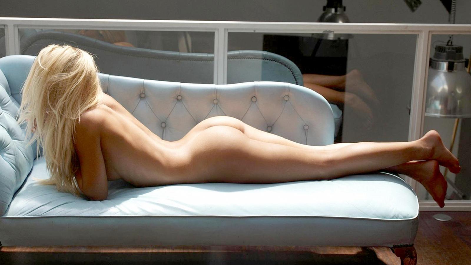 девушка, голая, красивая, ноги, грудь, попа