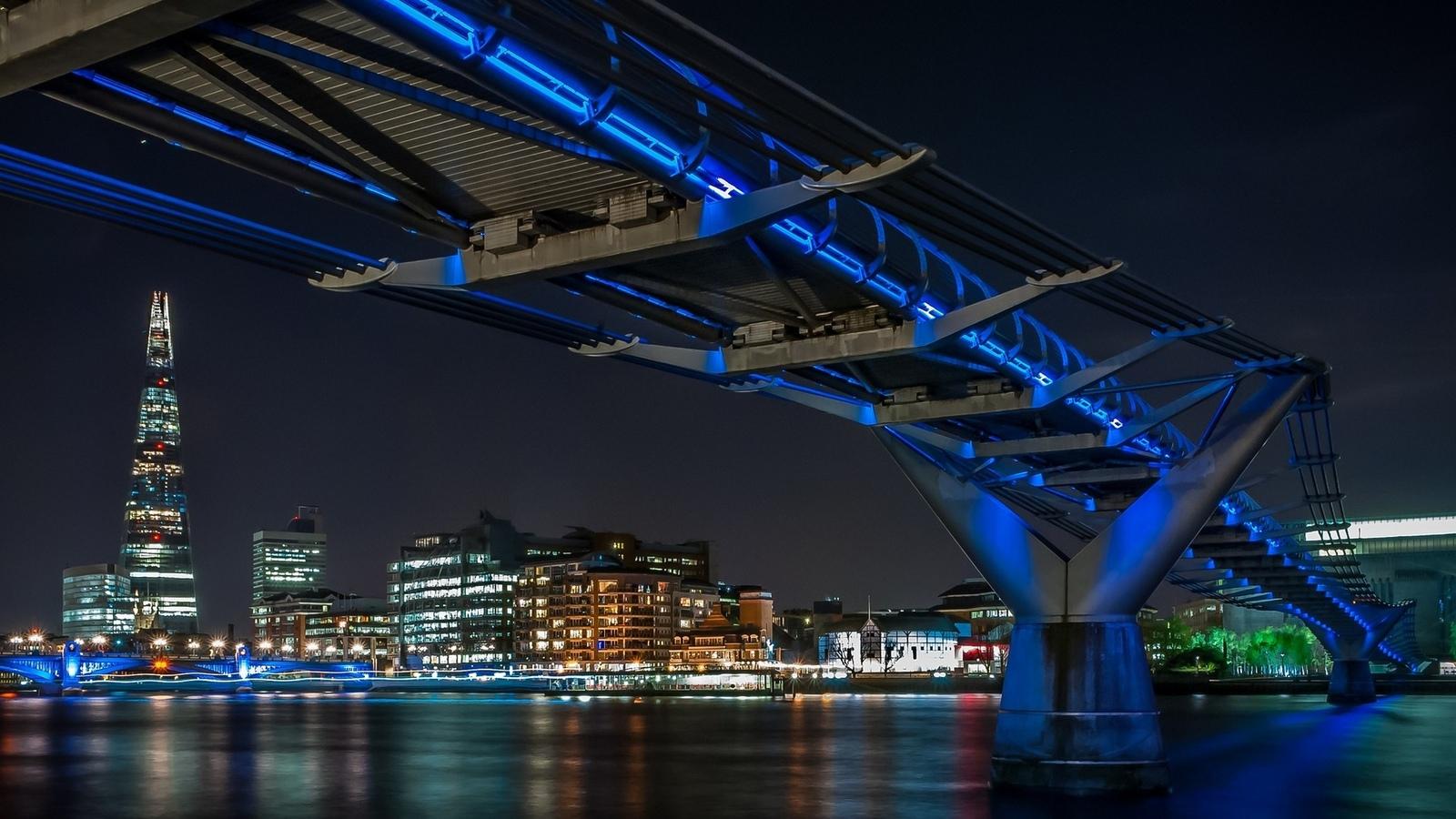 мост, река