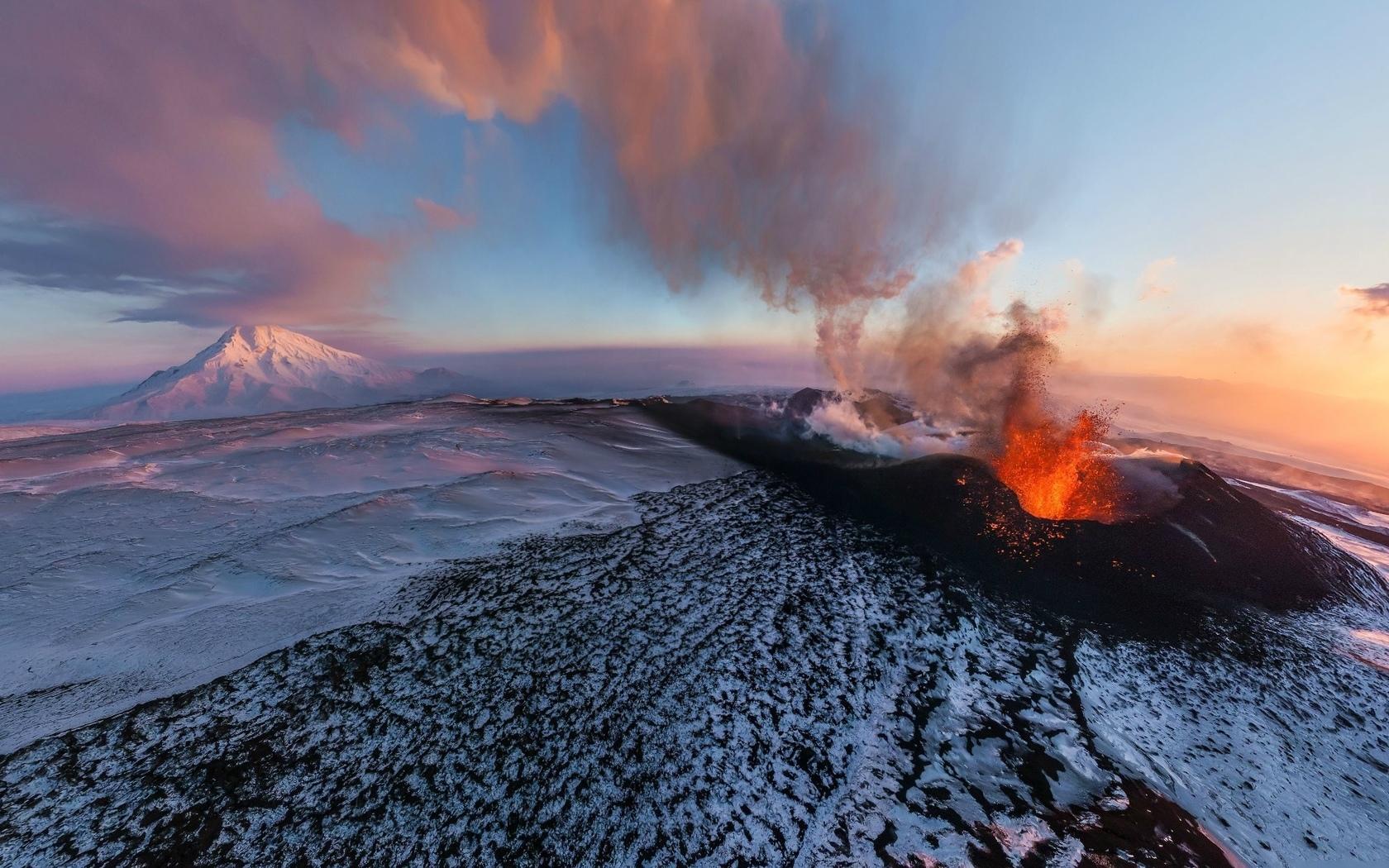 горы, вулкан