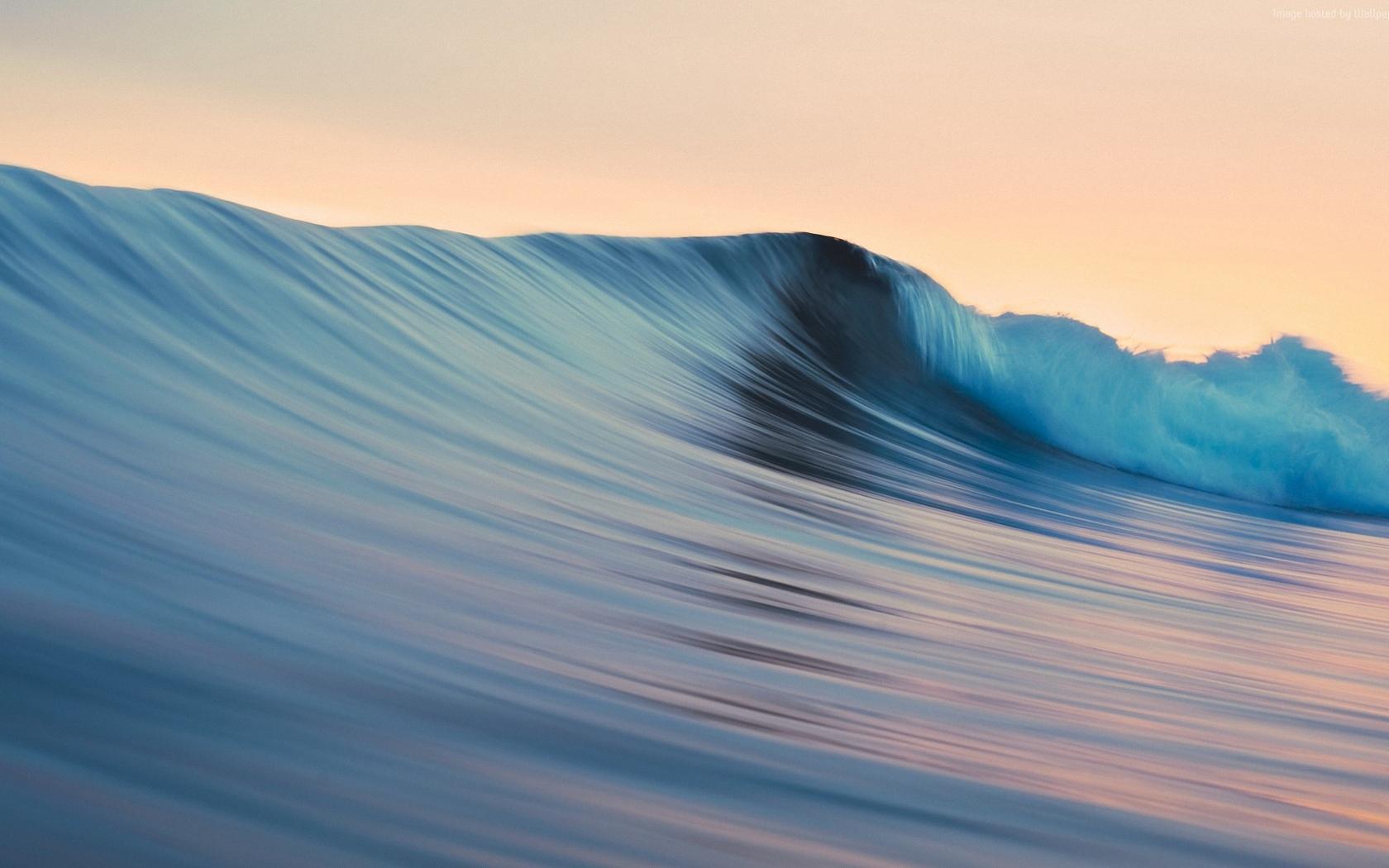 природа, море, волна