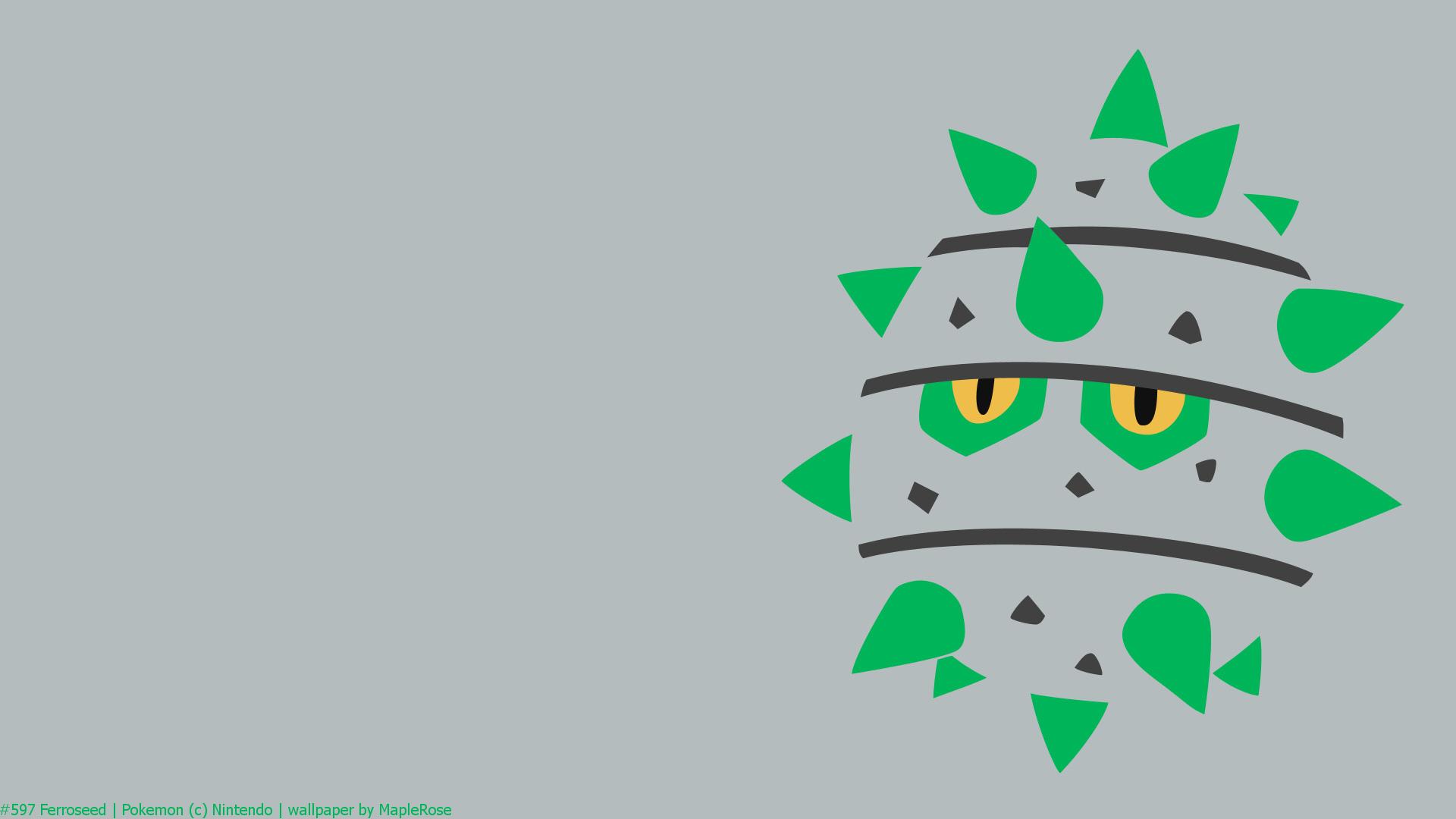 pokemon, ferroseed